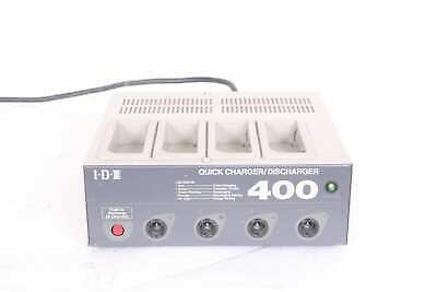 IDX- I400 4 Channel Battery Charger/Discharger For NP And BP Batteries • 90.84£