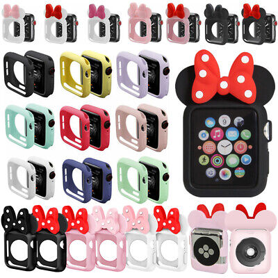 $ CDN5.42 • Buy Minnie For Apple Watch Iwatch Apple Series 4 3 2 1 Case Cover 40/44mm 38mm/42mm