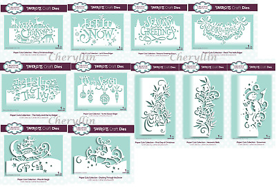 £8.25 • Buy Creative Expressions - Paper Cuts Dies - Christmas Collection 2019 - Edger Dies