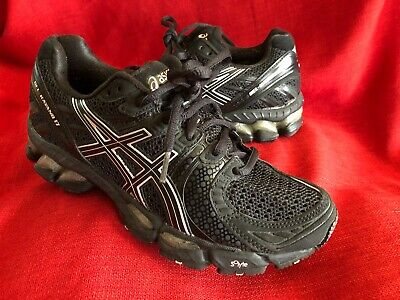 $62.30 • Buy Asics Gel-Kayano 17 IGS Black Sneakers Running Shoes Women's 6.5 T150N