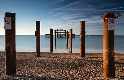 £10 • Buy Brighton West Pier Limited Edition Signed A3 Print