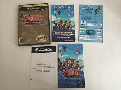 $49.99 • Buy Nintendo GameCube Legend Of Zelda: The Wind Waker Authentic Tested & Works Well