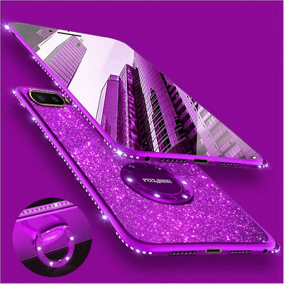 AU7.85 • Buy For OPPO Reno /  RealmeX Ultra Thin Ring Stand TPU Bling Sparkle Case Cover