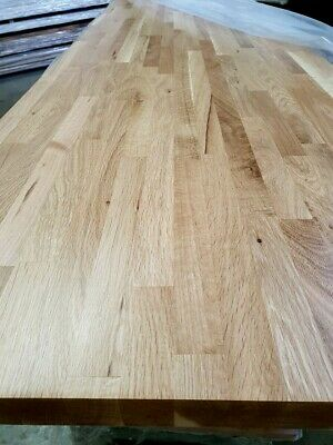 Solid Oak Wood Worktops 3m X 620mm X 40mm  FACTORY OILED Bargain £199 Only!  • 199£