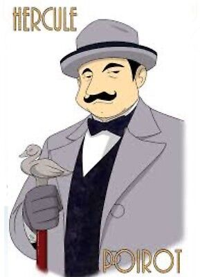 Hercule Poirot Complete 65 Audio Book Collection Agatha Christie *DOWNLOAD* • 4.99£