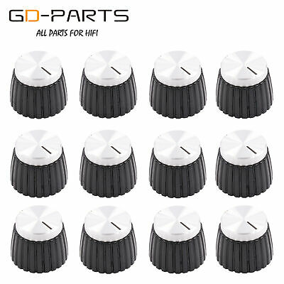 $ CDN13.77 • Buy 19.5*15.5mm Aluminum Plastic Set Knob For Marshall AMP Guitar Effect Pedal 12PCS