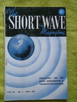 The Short Wave Magazine / May 1951 / Aerial Checks With The Gdo  • 7.49£