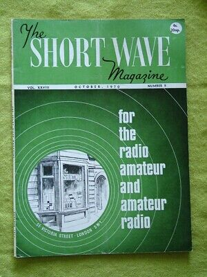 £7.49 • Buy The Short Wave Magazine / 1970 Oct / Varactor Diode Circuits