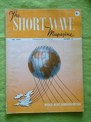 £7.49 • Buy The Short Wave Magazine / 1970 Feb / The Linear Amplifier Stage In Ssb Working
