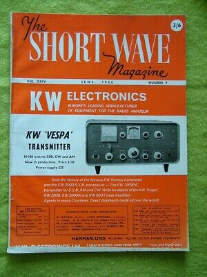 The Short Wave Magazine / June 1966 / End-fed Long Wires • 7.49£