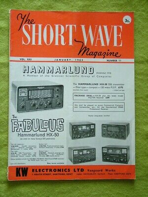 The Short Wave Magazine / Jan 1964 / Small Transmitter For Top Band • 7.49£