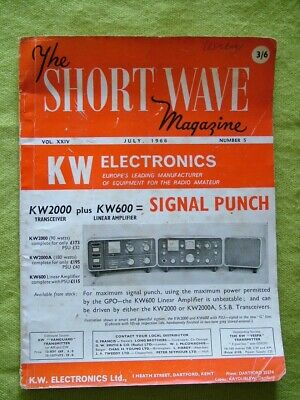 The Short Wave Magazine / July 1966 / Aerial Feed Considerations • 6.99£