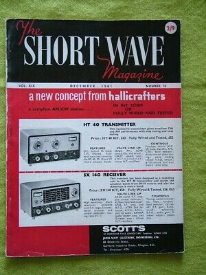 £7.49 • Buy The Short Wave Magazine / Dec 1961 / Amature-band Scale For The Cr-100
