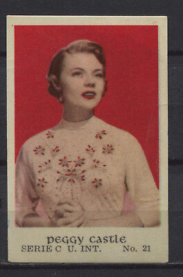 $ CDN5.99 • Buy Peggy Castle Vintage Movie Film Star Trading Card No. C-21