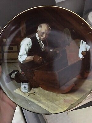 $ CDN19.13 • Buy Knowles Norman Rockwell Grandpas Gift Collector Plate