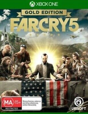AU99.95 • Buy BRAND NEW & SEALED! Far Cry 5: Gold Edition - Xbox One