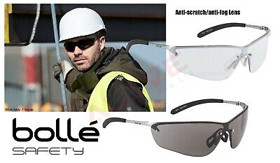 Bolle Silium Safety Glasses Spectacle Metal Frame 160 FLEX TEMPLES UV Protection • 11.99£