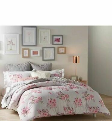 $ CDN215.21 • Buy Lauren Conrad LC Rosaline Floral FULL QUEEN  Comforter & Shams Set 3pc SET NEW