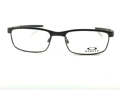 29a8235a27f2 Authentic Oakley Steel Plate OX3222-0452 Powder Pewter Rx Eyeglasses Frames  NOS • 79.95$