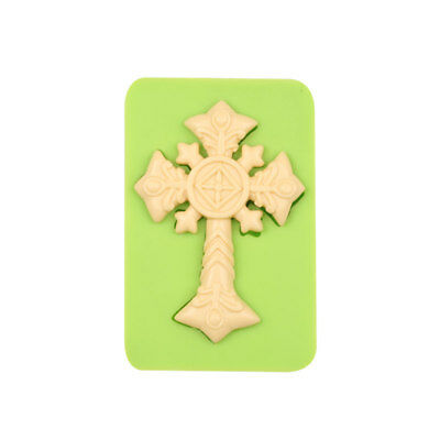 £4.99 • Buy Silicone Halloween Crucifix Cross Mould Cake Decor Icing  UK SELLER 1