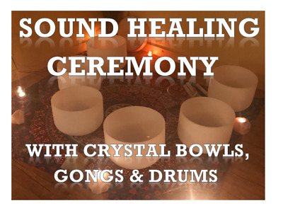 Sound Healing Ceremony With Crystal Bowls, Gongs & Drums CD • 3.99£
