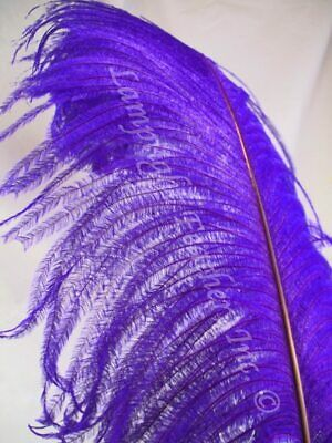 $6 • Buy Purple Ostrich Feather Plume Seconds18-24+ Inch Per Each