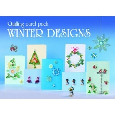 £19 • Buy Boxed Quilling Card Kit - Winter