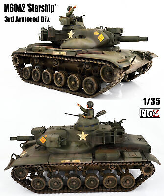 $183.98 • Buy US M60A2 Starship 1/35 FloZ Finished Tank Model With Crew