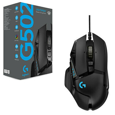 AU205.95 • Buy Logitech G502 Lightspeed Wireless Gaming Mouse With Hero 16K Sensor NEW