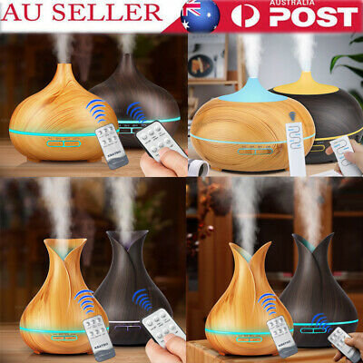 AU13.62 • Buy Air Humidifier Purifier Essential LED Oil Ultrasonic Aroma Aromatherapy Diffuser