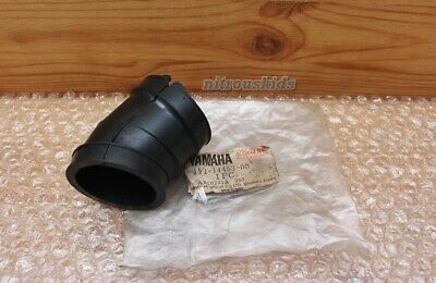 AU22 • Buy Yamaha Rx100 Air Cleaner Intake Rubber Boot Joint Carb Carburetor Nos