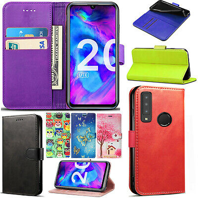 For Honor 20/ Honor 20 Lite Honor 8s Stylish Flip Wallet Phone Stand Case Cover • 3.25£