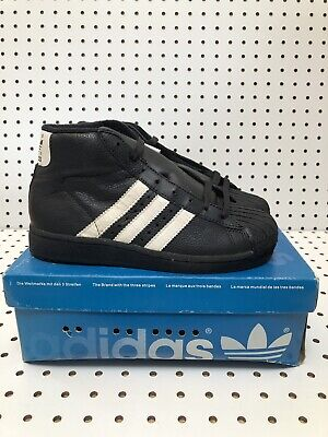 £18.29 • Buy Vintage Adidas Pro Model II JR 90s Adidas Sneakers Shell Tow Mids Size 4.5 US