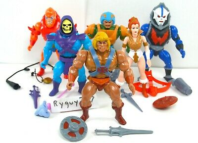 $195 • Buy MOTU, He-Man Lot Filmation Style, Masters Of The Universe, Super7, Figure, Set