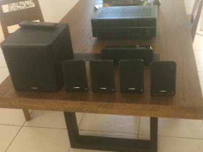 AU325 • Buy Yamaha 5 Speaker And Sub Woofer Surround Sound