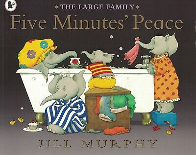 £3.99 • Buy Young Children's 'the Large Family' Picture Story Book: Five Minutes Peace