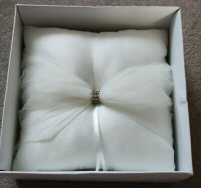 Ring Bearer Pillow - Never Used - Comes With A Box - Ivory • 14.75£