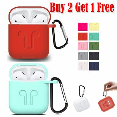 $ CDN8.92 • Buy 360° Protective Silicone AirPods Accessories Kit Case Cover For AirPods 1