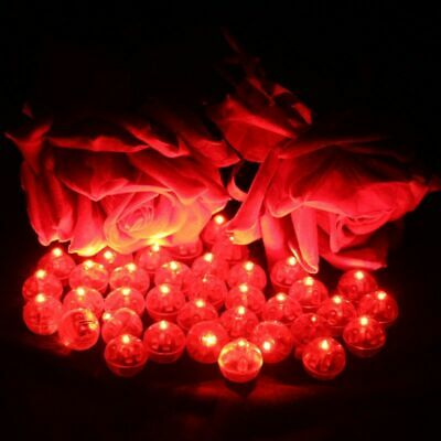 $ CDN27.12 • Buy Red Round Led Ball Lamps Balloon Lights Lanterns Party Decorations Halloween