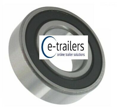 6205 2RS TRAILER BEARING - ALSO FITS KUHN & SILAGE RAKES HAY TED - 25 X 52 X 15 • 4.78£