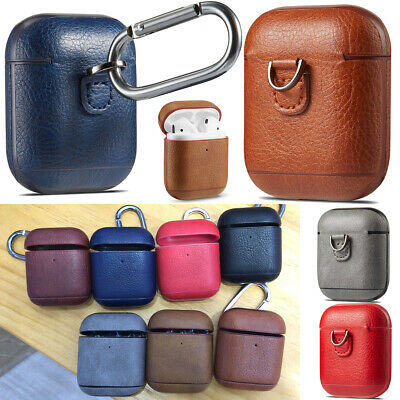 $ CDN11.42 • Buy AirPods Accessories Shockproof Case Cover Protective PU Skin For Apple Airpods