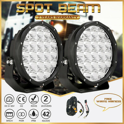 AU118.96 • Buy 2  OSRAM DURIS P9 9inch LED Spot Driving Lights Truck Offroad 4WD SUV UTE ATV