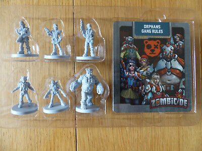 AU68.03 • Buy Zombicide: Invader: Kickstarter Exclusive Orphans Gang Survivor Pack