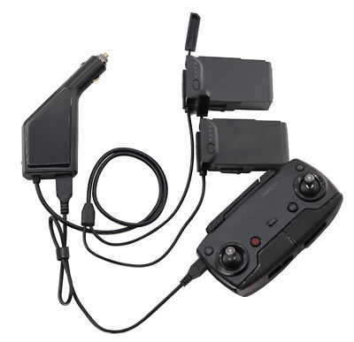 AU21.49 • Buy Car Charger Battery Remote Control USB Charging 3 In1 For Rc DJI MAVIC Air Parts