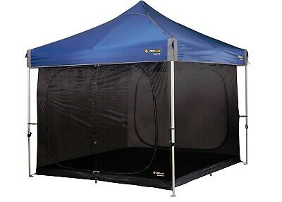 AU199.95 • Buy OZtrail Gazebo Screen House Inner Tent Kit ONLY Convert 3x3m Mesh Netting New