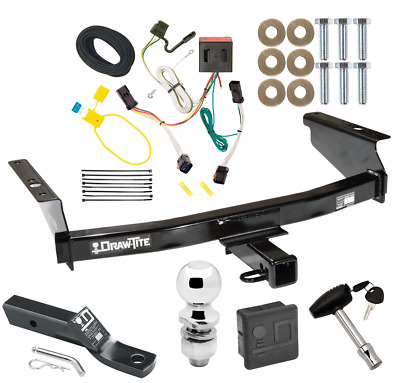 $269.88 • Buy Trailer Tow Hitch For 02-07 Jeep Liberty Deluxe Package Wiring & 2  Ball & Lock