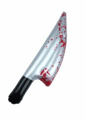 $ CDN3.94 • Buy Halloween Inflatable Bloody KNIFE Horror Blood Stained Blow Up Costumes Sceam