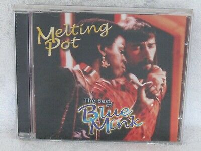 Melting Pot, Best Of Blue Mink, Deleted Castle Cd, New Not Sealed • 8£