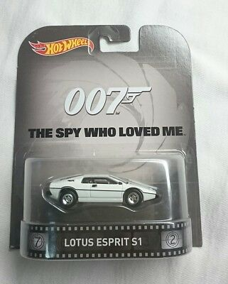 $ CDN18 • Buy Hot Wheels Retro Entertainment Lotus Esprit S1 James Bond 007 The Spy Who Loved