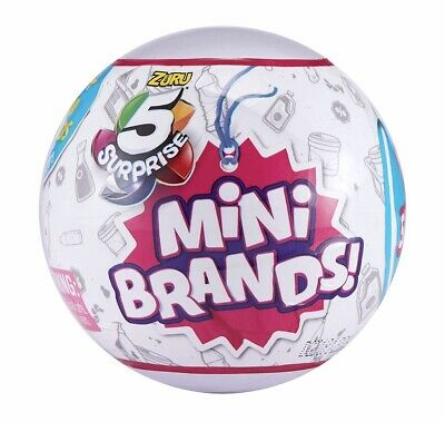 $ CDN14.62 • Buy 5 Surprise Mini Brands Zuru Sealed Ball